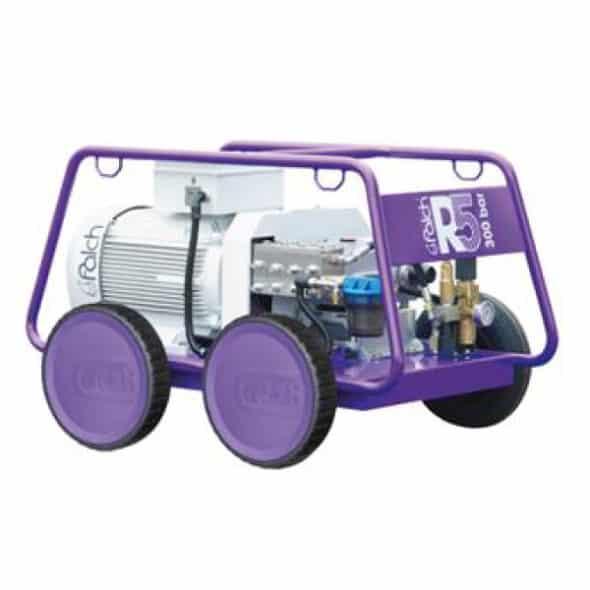 Pojazdný tlakový čistič - 3